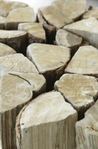 Du bois bûche à haute performance énergétique. (Photo : Florian Kleinefenn)