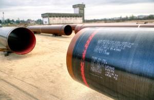 La durée de vie de ces tubes en acier est d'une cinquantaine d'années. Photo : Frédéric Marais.