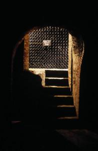 Une des caves d'Epernay du producteur de champagne, ouverte à la visite. (Photo Moët & Chandon)