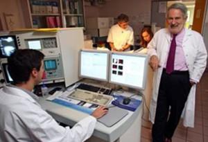 Le professeur Hénon, P-DG de Cellprothera, l'une des success-story de Semia.