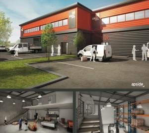 Le groupe GSE installe son concept de villages d'entreprises Ideapark à Dole. (Image : Apside, architectes)