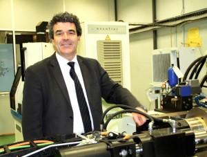 Eric Michoux relance Escofier, le dernier fabricant français de machines-outils de formation à froid du métal par roulage.