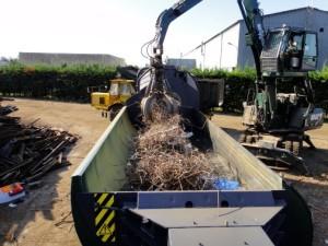 Desplat traite 85 000 tonnes par an de métaux ferreux et non ferreux.