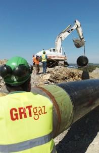 GRTgaz est le maître d'ouvrage de ce gigantesque chantier. Photo : Noël Hautemanière.
