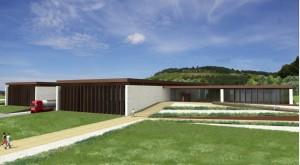 Près de 4 000 m2 au sol pour ce bâtiment répondant aux normes HQE. ©E&F Architect.