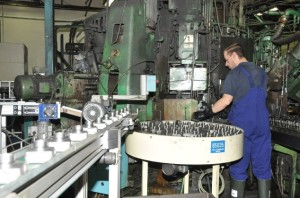 Dans l'atelier du fabricant d'équipements de génie thermique Suntec à Longvic (Côte-d'Or).