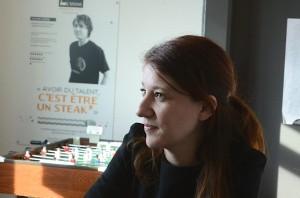 Émilie Castellano a créé L'Usine, au Techn'hom de Belfort, en 2010.