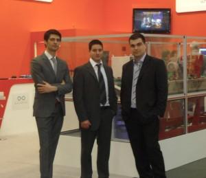Anthony Cherabieh, à gauche, est le nouveau directeur général de Provéa. Eric Fricou, tout à droite, à qui il succède, prend les rênes de la société Manusystems.