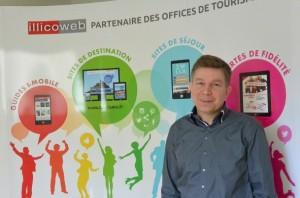 Stéphan Einhorn, co-gérant d'Illicoweb. (Photo : Pierre-Yves Ratti)