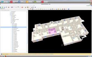 Exemple d'une maquette numérique t sa plateforme collaborative.