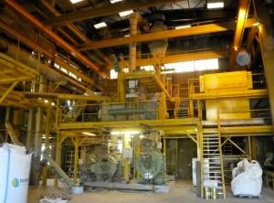 L'ancien outil de production de sucre de betterave a été reconverti. Photo : Traces Ecrites.