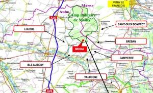 Les premiers villages seront situés à 5 km de Sécoia.