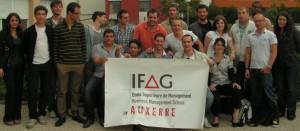 La promotion 2013 de l'Ifag d'Auxerre.