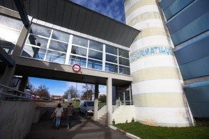 L'université souhaite que l'IUT de Belfort-Montbéliard soit pleinement intégré au site du Techn'hom. © Ludovic Godard - UFC.