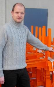 Nicolas Lecourt a créé Arc-en-Ciel Application avec son père en 2003. Photo : Christian Robischon.