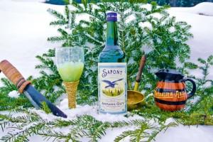 La Distillerie Guy aura mis une année et demie à concocter son nouvel apéritif, baptisé Sapont.
