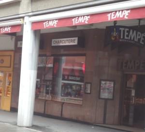 La boutique Tempé à Mulhouse.  Photo : Christian Robischon