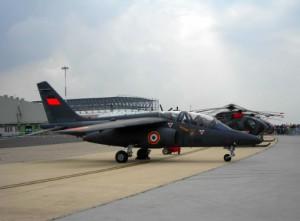 Les Alpha Jets, comme celui-ci (photo Whikipédia) vont quitter la BA 102 à la fin du mois de juin.