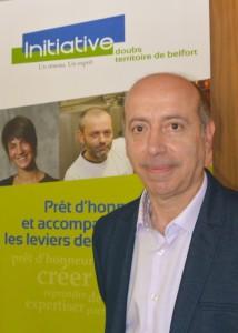 Pierre Arnaud, vice-président (et futur président) d'Initiative Doubs-Territoire de Belfort.  © Pierre-Yves Ratti.