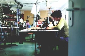 Couturières prototypistes, un métier à très forte compétence.