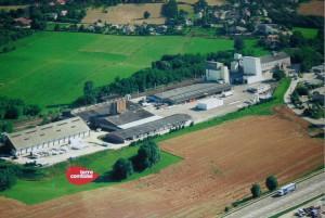 Dans l'usine de fabrication de granulés à Dannemarie-sur-Crête, 40 personnes travaillent en 3 X 8. ©360 HD