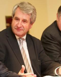 Philippe Richert, président du conseil régional d'Alsace. © Badias/Région Alsace.