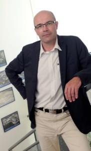 Christophe Savel, nouveau directeur de Chimirec Centre est.
