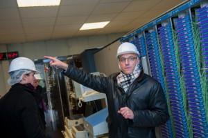 Coordonnateur du projet Venteea, Didier Colin, fait partie d'ERDF.