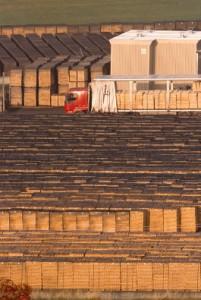 Le tonnelier possède un stock de bois estimé à 130 millions d'€.
