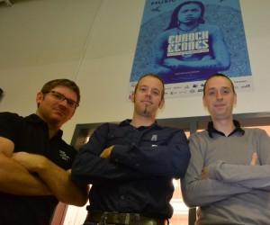 De gauche à droite : Fabien Hazenbroucq, Gauthier Douchet et Florian Fery, les trois co-fondateurs de Trinaps.