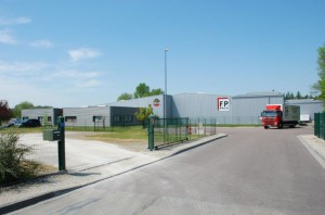 Le site de FP Pack à Appoigny, près d'Auxerre (Yonne).