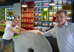 Guillaume Viellard (à gauche) et Marc Désarménien, deux des associés. ©Didier Hugue.