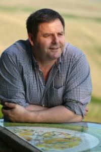 Olivier Tricon, viticulteur à Chablis et nouveau président de la CGPME Bourgogne.
