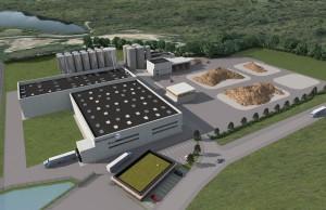 Le cabinet d'architectes dijonnais François Brandon et le bureau d'études techniques dijonnais Archimen sont chargés de construire l'usine.
