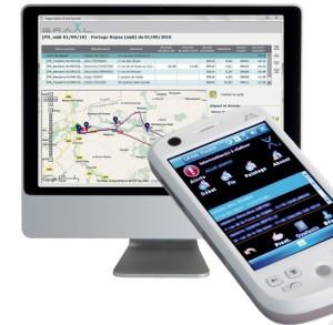 Le logiciel conçu par For-Age assure le suivi des prélèvements. ©For-Age.