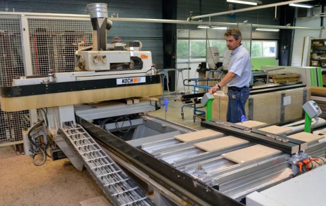 L'un des modèles assemblés dans l'usine de Vendeuvre-sur-Barse. ©Frédéric Marais.