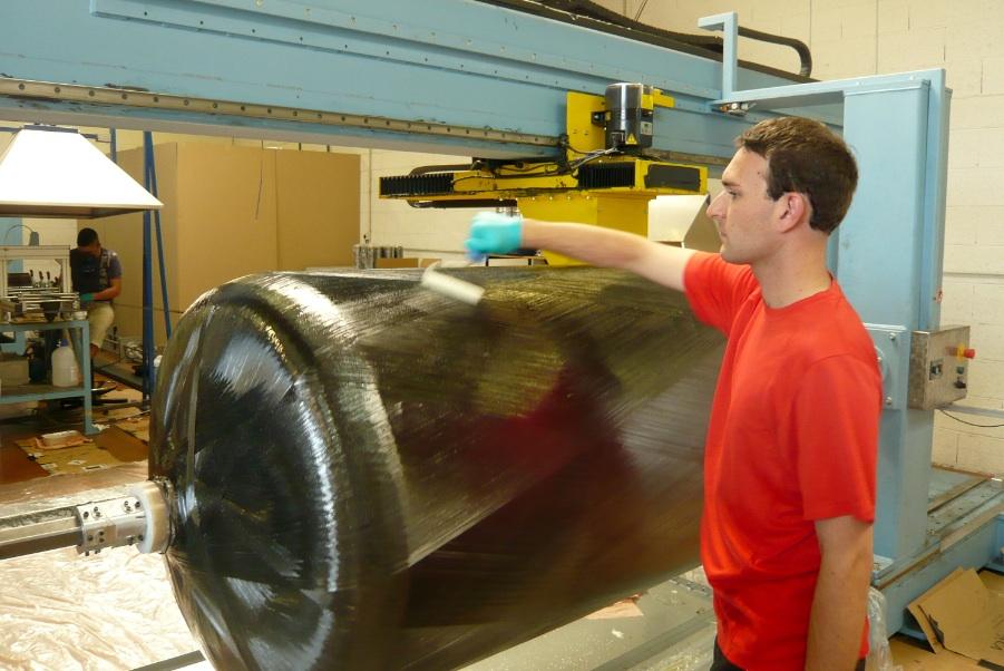 MaHytec fabrique des réservoirs à hydrogènes et des piles à combustible. ©Christiane Perruchot.