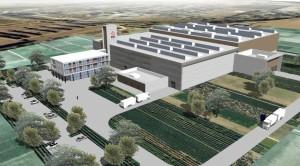 Une représentation virtuelle de la future base de maintenance d'EDF (document non contractuel). ©EDF