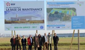 La base sera installée sur le parc d'activités de référence Nord Haute-Marne à Saint-Dizier. ©Ecolin-ville de Saint-Dizier