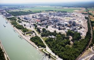 Le gigantesque site de Chalampé va pouvoir accueillir d'autres entreprises.